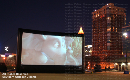 Southern Outdoor Cinema Movie Centennial Olympic Park