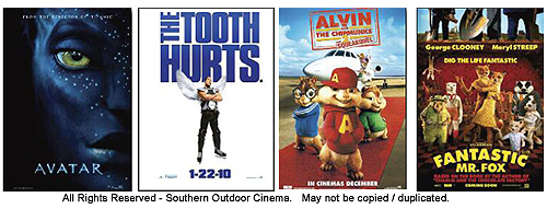 Movie Titles - 2010 - Outdoor Movie